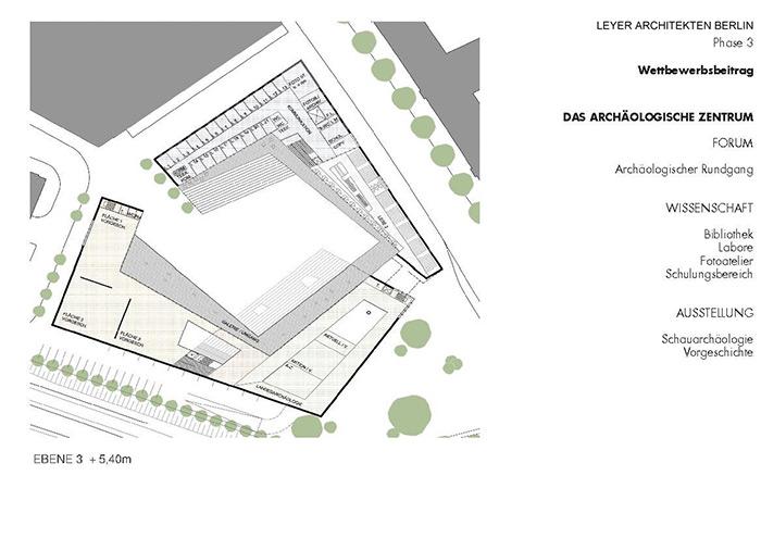 arch ologisches zentrum mainz azm bfl architekten und. Black Bedroom Furniture Sets. Home Design Ideas
