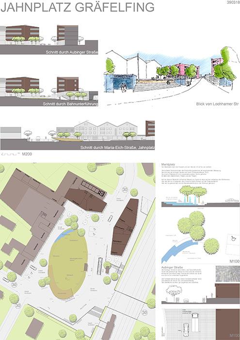 Ideenwettbewerb Neugestaltung Jahnplatz