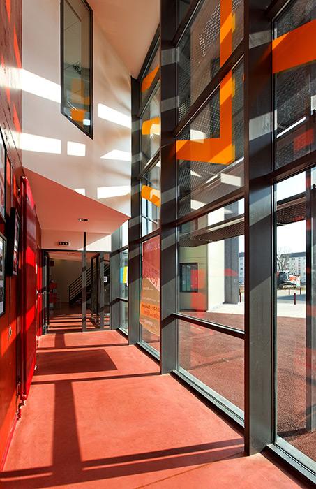 Neubau des Sozio- und Kulturzentrum