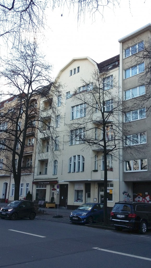 Straßenfassade im Bestand | Dachgeschossausbau, Berlin-Charlottenburg